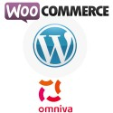 Omniva (Post24, Estonian Post) AIO extension for Wordpress WooCommerce